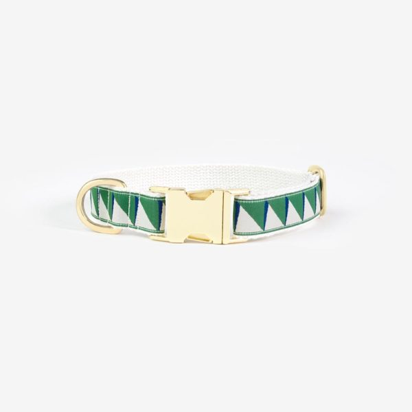 SEE SCOUT SLEEP Standard Collar - Nice Grill (Emerald, Navy & Cream)