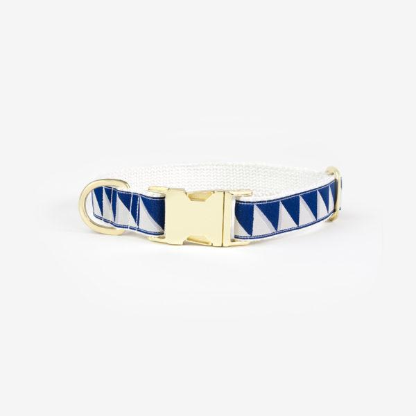 SEE SCOUT SLEEP Standard Collar M -Nice Grill- (Navy x Cool Gray x Cream)